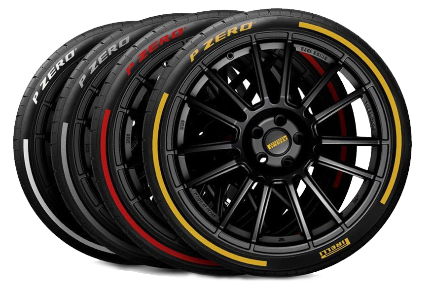 Pirelli Gomme e Pneumatici - Color edition
